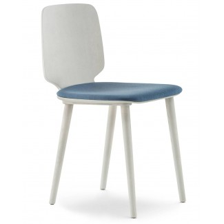 Pedrali Babila Side Chair With Cushion
