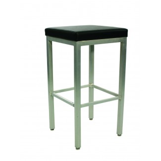 Micah Backless Bar Stool with Upholstered Seat