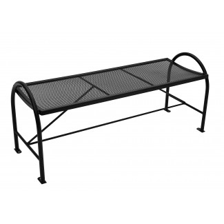 Backless Micro Mesh Bench