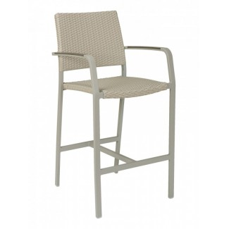 BAL-5725A Modern Outdoor Woven Commercial Restaurant Resort Bar Stool