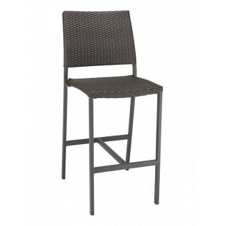 BAL-5725S Modern Outdoor Woven Commercial Restaurant Resort Bar Stool