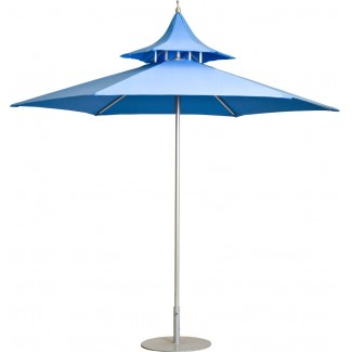 "Bali 5'-8"" Square Restaurant Umbrella"
