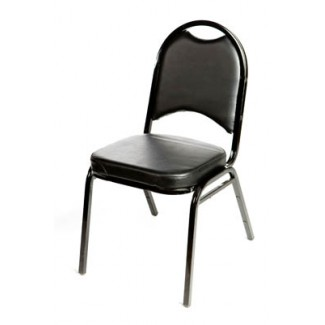 Banquet Chair Silver Vein