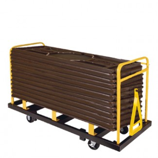 "Banquet Table Truck for 30"" x 96"" (16 Capacity)"