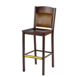 Bar Stool with Upholstered Back 981 UB