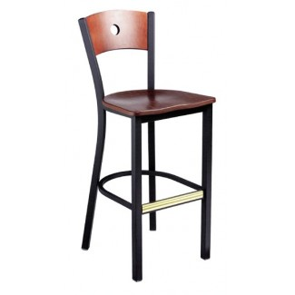 Bar Stool with Upholstered Seat 951