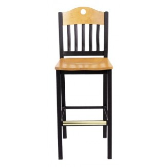 Bar Stool with Upholstered Seat 982