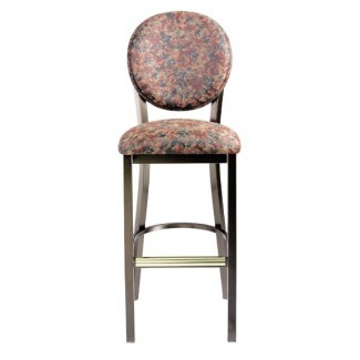 Bar Stool with Upholstered Seat and Back 932