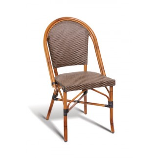 Bayside Rattan Stacking Side Chair