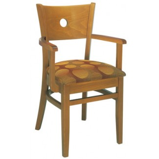 European Beech Wood Dining Chairs Eclectic Beechwood Arm