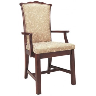 Beechwood Arm Chair WC-826UR with Picture Back