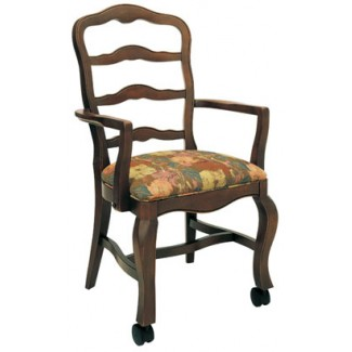 Beechwood Arm Chair WC-904UR with Casters