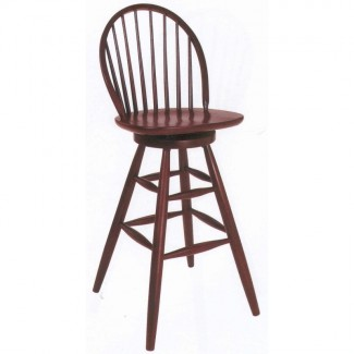 Beechwood Bar Stool BS-179VR All Wood