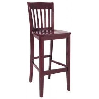 Beechwood Bar Stool BS-299VR All Wood