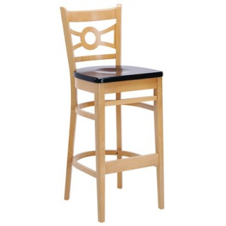 Beechwood Bar Stool BS-327VR All Wood