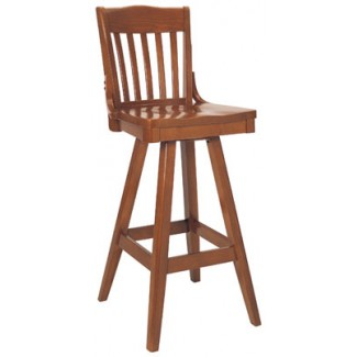 Beechwood Bar Stool BS-356VR All Wood