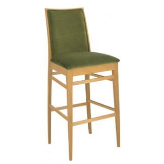 Beechwood Bar Stool BS-394UR with Picture Back