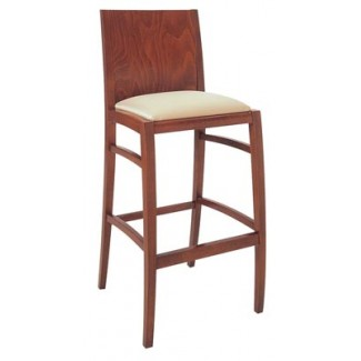 Beechwood Bar Stool BS-414UR