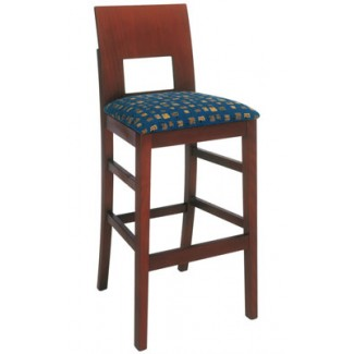 Beechwood Bar Stool BS-440UR