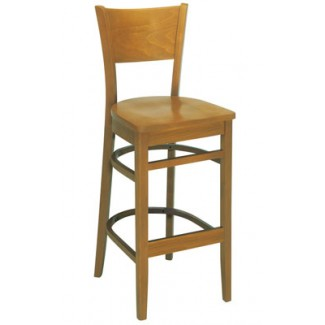 Beechwood Bar Stool BS-441VR All Wood