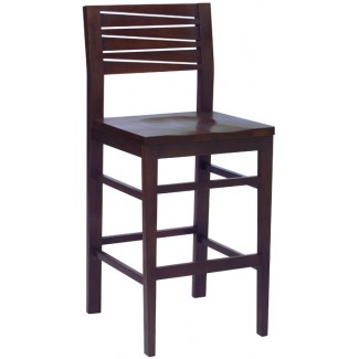 Beechwood Bar Stool BS-474VR All Wood