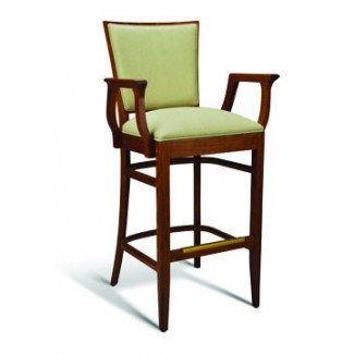 Beech Wood Bar Stool CC115 Series with Arms