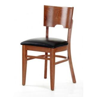 Restaurant Furniture Contemporary Beech Wood Side Chair