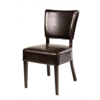European Beech Wood Restaurant Chairs Showroom 2
