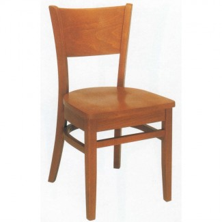 Beechwood Side Chair WC-1000VR All Wood