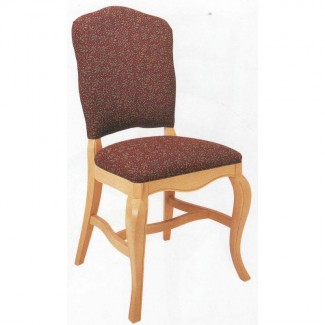 Beechwood Side Chair WC-157UR Fully Upholstered