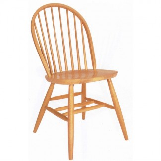 Beechwood Side Chair WC-282VR All Wood
