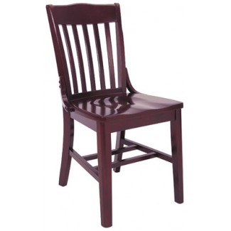 Beechwood Side Chair WC-423VR