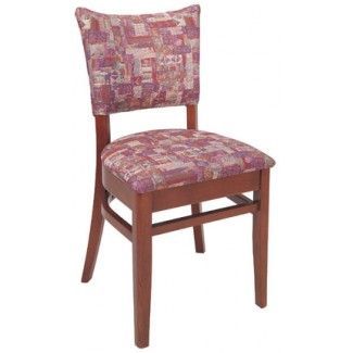 Beechwood Side Chair WC-722UR Fully Upholstered