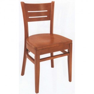 Beechwood Side Chair WC-752VR All Wood