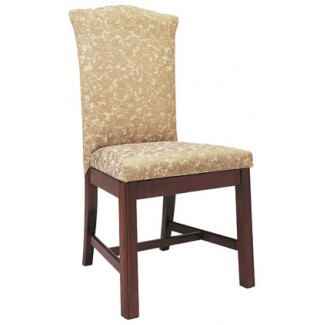 Beechwood Side Chair WC-835UR Fully Upholstered