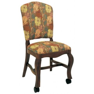 Beechwood Side Chair WC-907UR Fully Upholstered