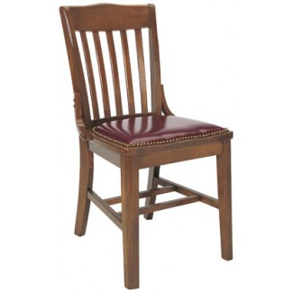 Beechwood Side Chair with Cobbler Seat WC-423CR