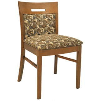 Beechwood Side Chair with Inset Back WC-928UR