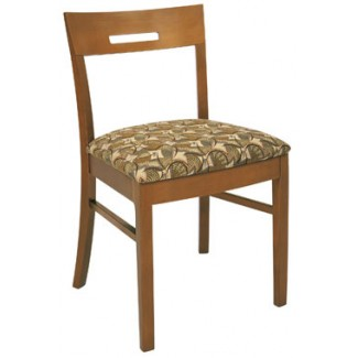 Beechwood Side Chair with Open Back WC-926UR