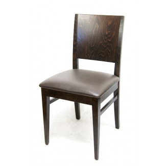 European Beech Solid Wood Upholstery Restaurant Side Chairs Beechwood Side Chair 835P
