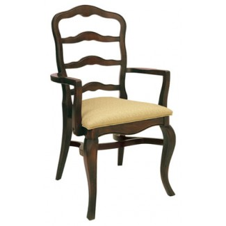 Beechwood Stacking Arm Chair WC-898UR