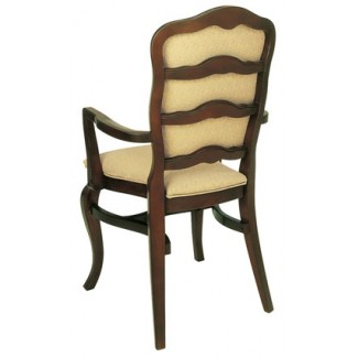 Beechwood Stacking Arm Chair WC-900UR