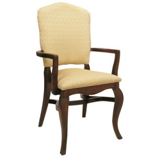 Beechwood Stacking Arm Chair WC-902UR