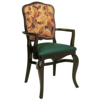 Beechwood Stacking Arm Chair WC-916UR
