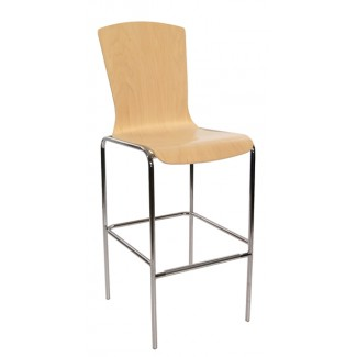 Bent Wood Bar Stool 10BT