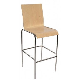 Bent Wood Bar Stool 10SQ
