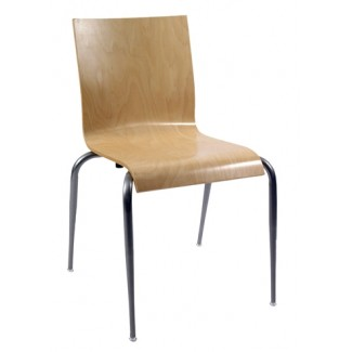 Moderne Nesting Bentwood Side Chair N6-SQ