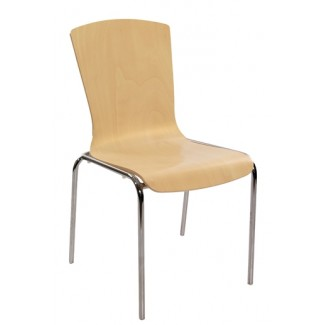 Bent Wood Stacking Side Chair S10-BT