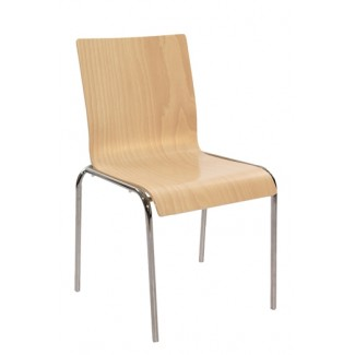 Moderne Stacking Bentwood Side Chair S10-SQ