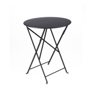 "24"" Round Folding Bistro Table without Parasol Hole"